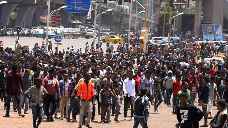 Ethiopia: Thousands protest after deadly ethnic violence