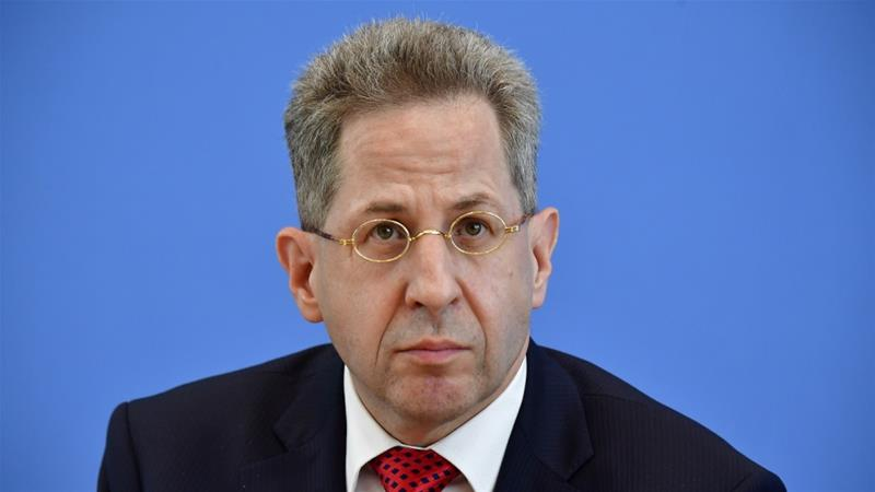 Merkel has decided German spy chief must go