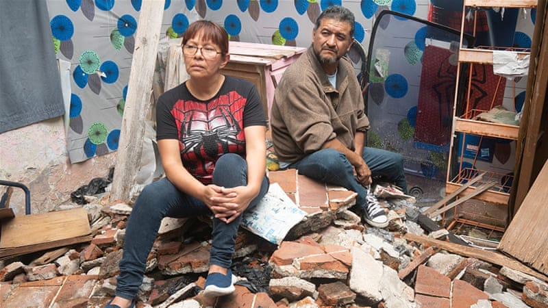 Mexico quake one year on: Families still wait for help to rebuild