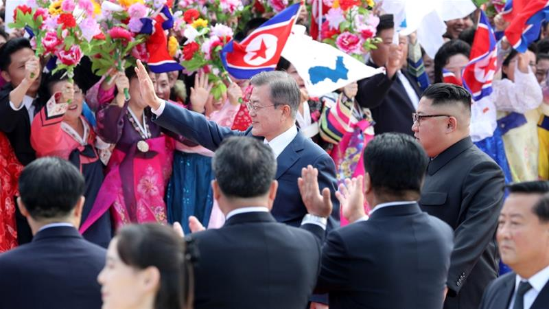 South Korean leader in Pyongyang to reboot nuclear talks