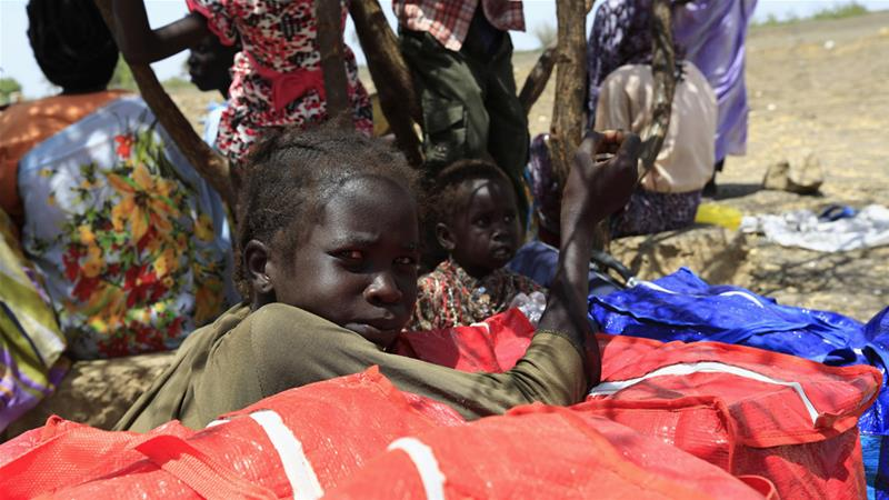 About two million South Sudanese have fled the country over the past five years of war [Mohamed Nureldin Abdallah/Reuters]