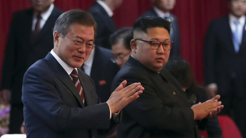 Moon has long favoured engagement with North Korea, which is under multiple UN sanctions [File: The Associated Press]