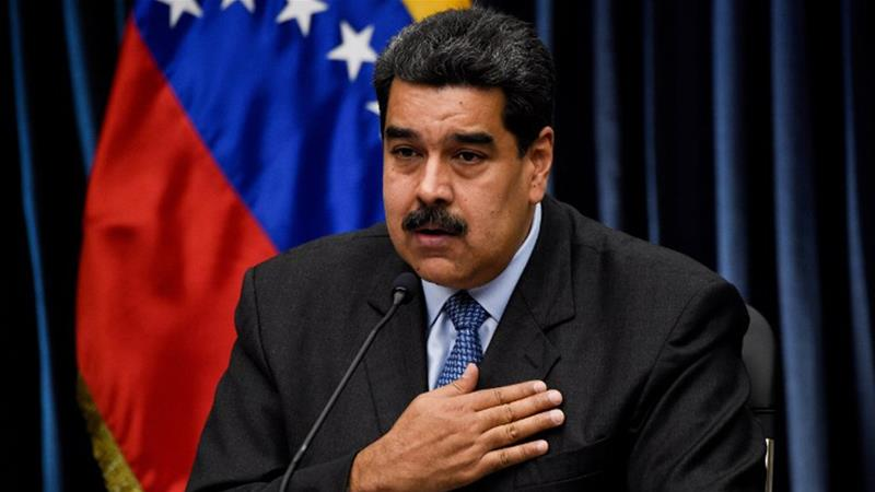 Maduro spent two days in China last week attending meetings at the China Development Bank and the China National Petroleum Corporation [Federico Parra/AFP]