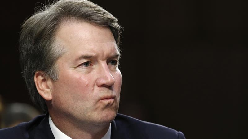 The committee will be voting on whether to recommend Kavanaugh's nomination to the full Senate [Jacquelyn Martin/AP Photo]