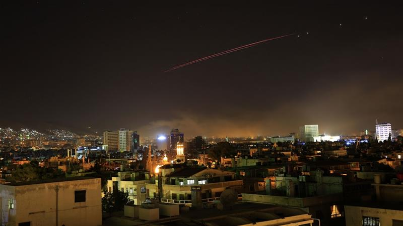 Syrian state media denied that the blasts were caused by Israeli air raids [File: Hassan Ammar/AP]