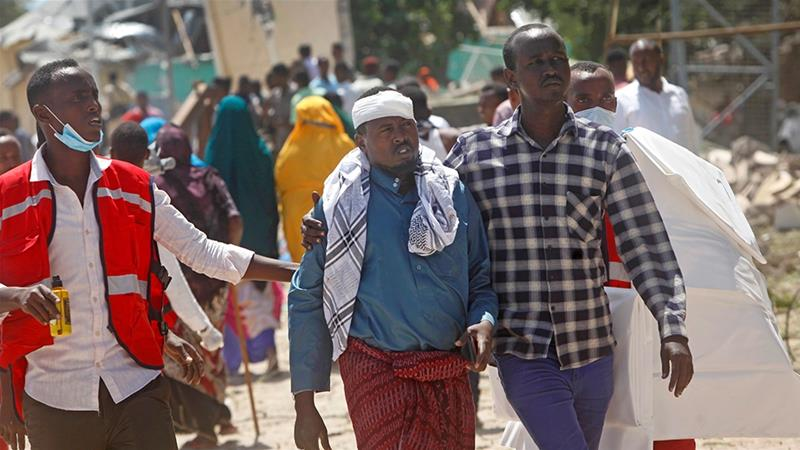 Al Shabaab car bomb kills at least six in Mogadishu