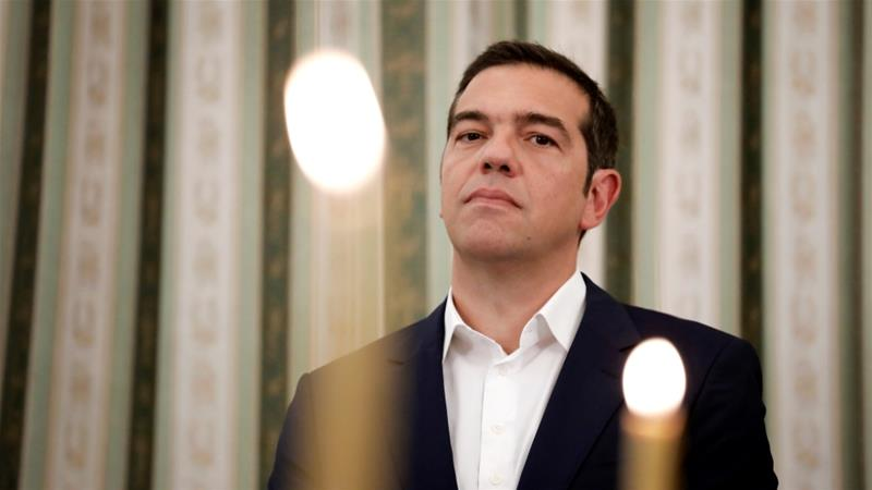 Prime Minister Tsipras predicts that Greece will continue to generate larger-than-forecast surpluses [Reuters]