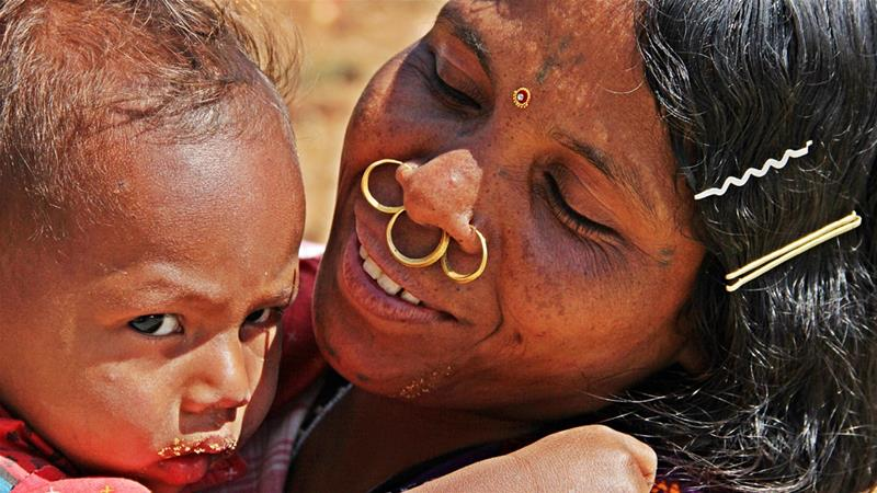 India's indigenous children are far more likely to die or suffer from malnutrition [Avik Mitra/Getty Images]