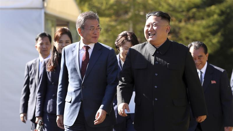 As Moon heads to Washington, Kim turns to old friend Moscow