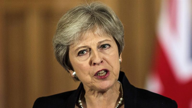 Embattled UK leader defiant after Brexit plan attacked