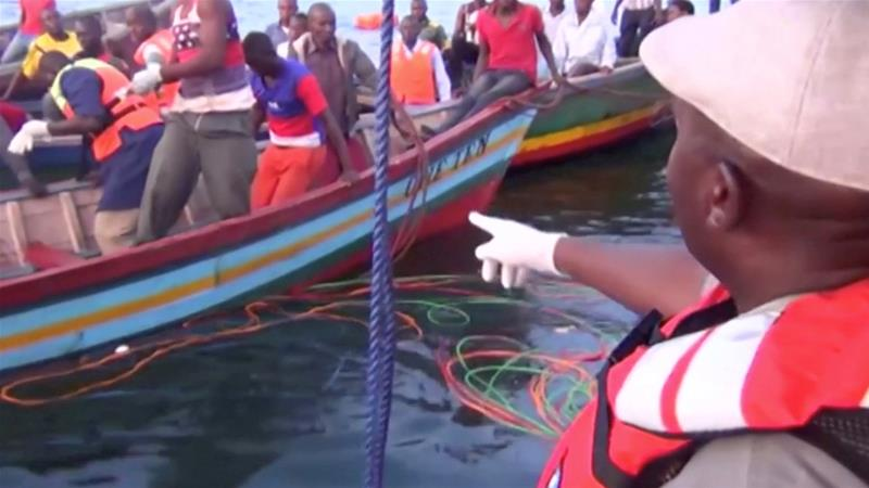 Tanzania ferry disaster: hundreds missing