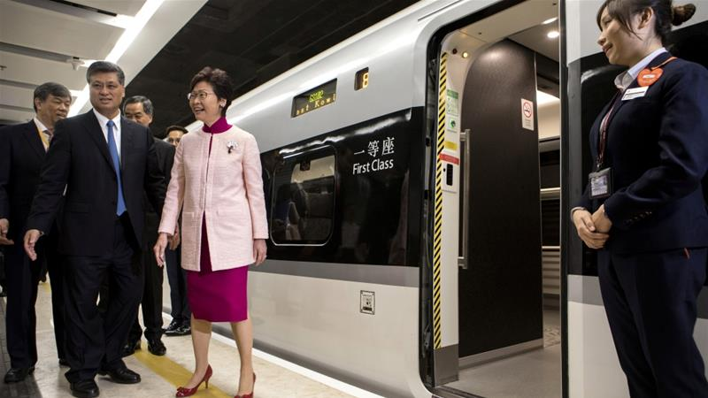 New Hong Kong to Shenzhen high speed train launches today
