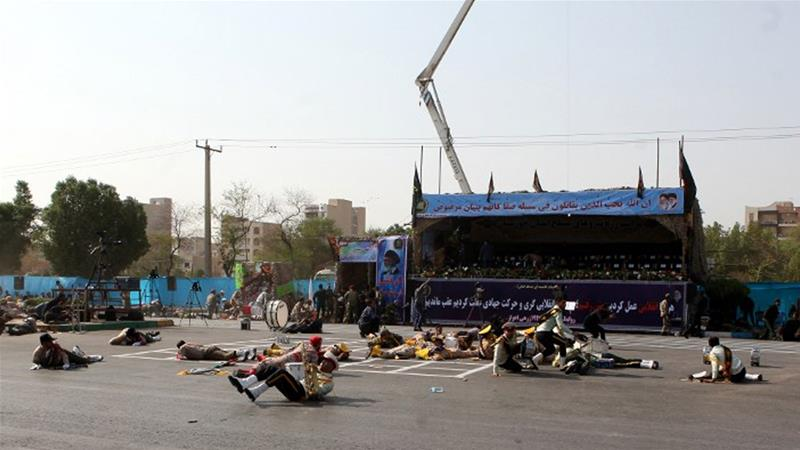 Iran's Revolutionary Guard vows to avenge Ahvaz attack