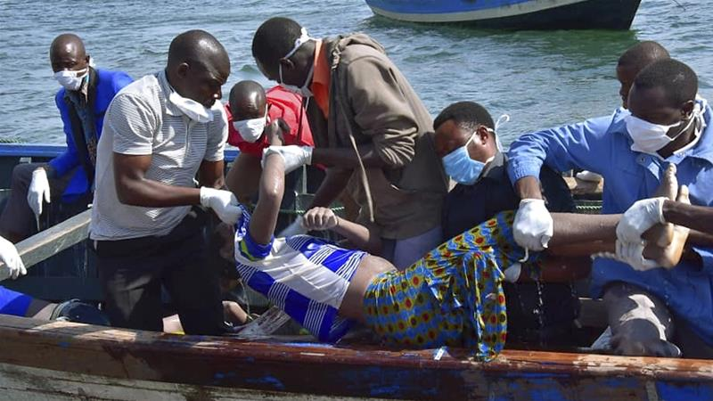 Lake Victoria Tanzania ferry disaster: Survivor found in air pocket