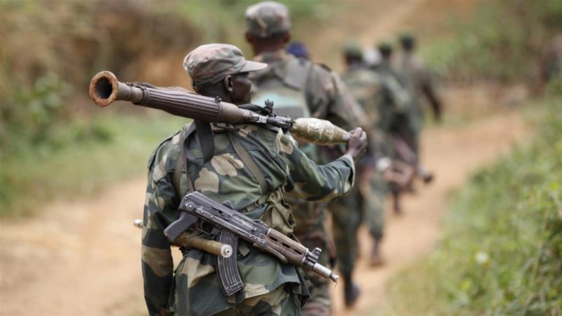 Last year, the DR Congo army launched a campaign against the fighter group [File: Kenny Katombe/Reuters]