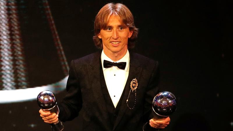 Modric beats Ronaldo, Salah to FIFA best player award