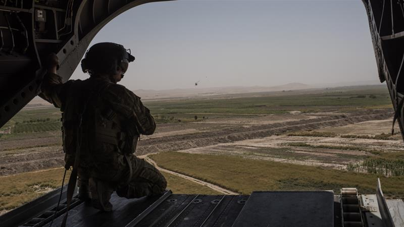 In the southern Kandahar province, US forces conducted air raids in Maruf and Shah Wali Kot districts, killing 33 Taliban fighters and injuring eight others [Andrew Renneisen/Getty Images]