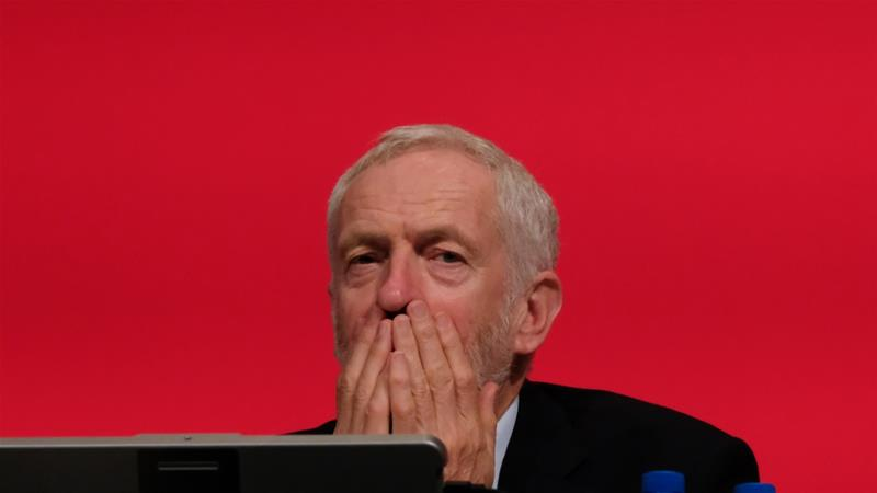 Labour Party leader Jeremy Corbyn is a long-time Eurosceptic [Ian Forsyth/Getty Images]