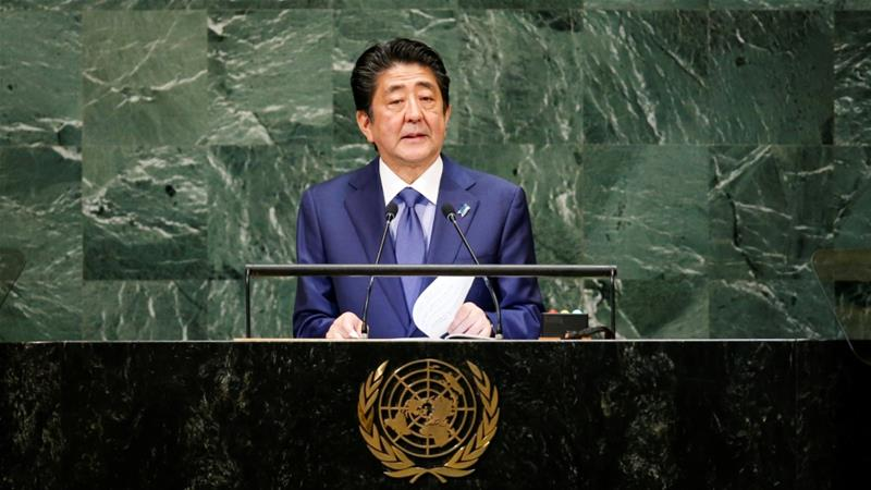 Japan's Abe open to meeting North Korean leader Kim Jong-un