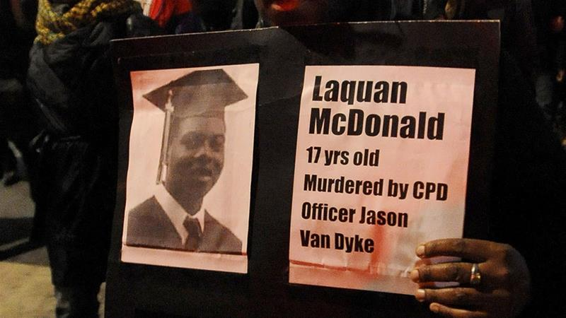 Laquan McDonald was shot 16 times by Chicago Police Department Officer Jason Van Dyke in 2014 [File: Paul Beaty/AP Photo]