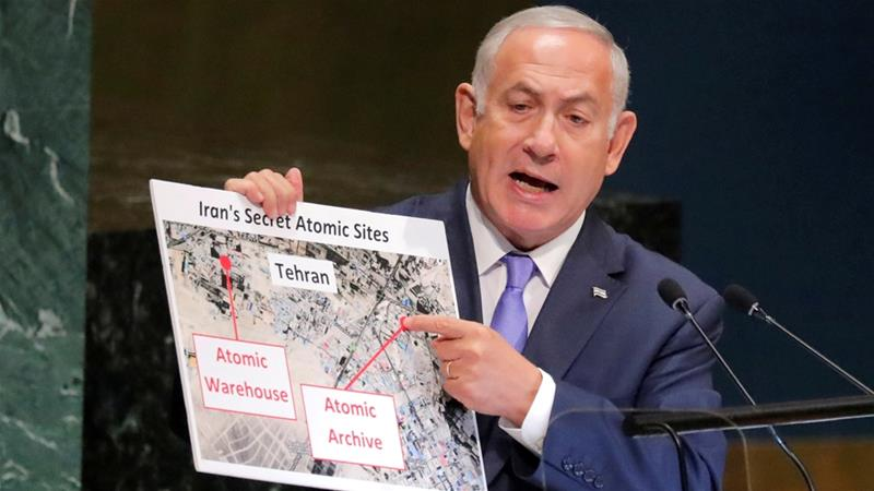 The new site Netanyahu identified sits a short distance from Shourabad district outside the capital, Tehran [Reuters]