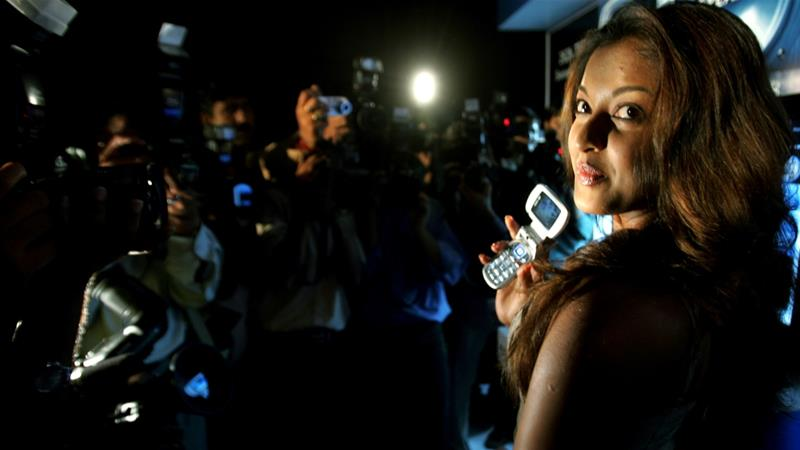 While a number of top Bollywood actors backed Dutta, many others preferred silence [Adnan Abidi/Reuters]