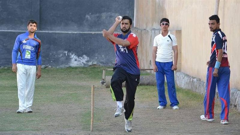 Sarfaraz wishes to represent his country Afghanistan on an international level in cricket [Courtesy: Sarfaraz Pakhtoon]
