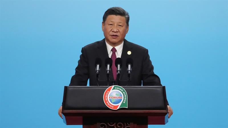 Xi meets Ethiopian prime minister