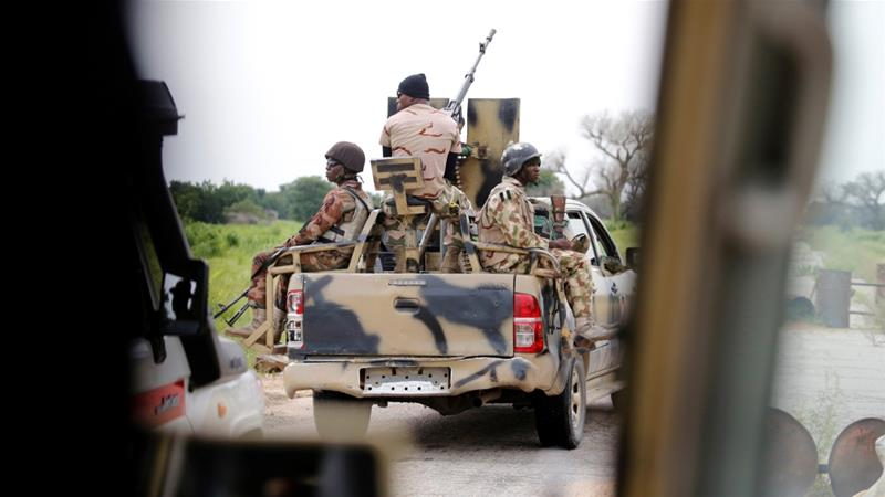 Among the dead are two officers and 46 soldiers, according to the military sources [File: Afolabi Sotunde/Reuters]