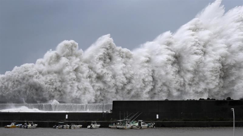 Typhoon Jebi: Strongest storm to hit Japan in 25 years