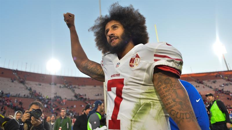 Athletes side with Kaepernick as Nike 'Just Do It' ad goes viral