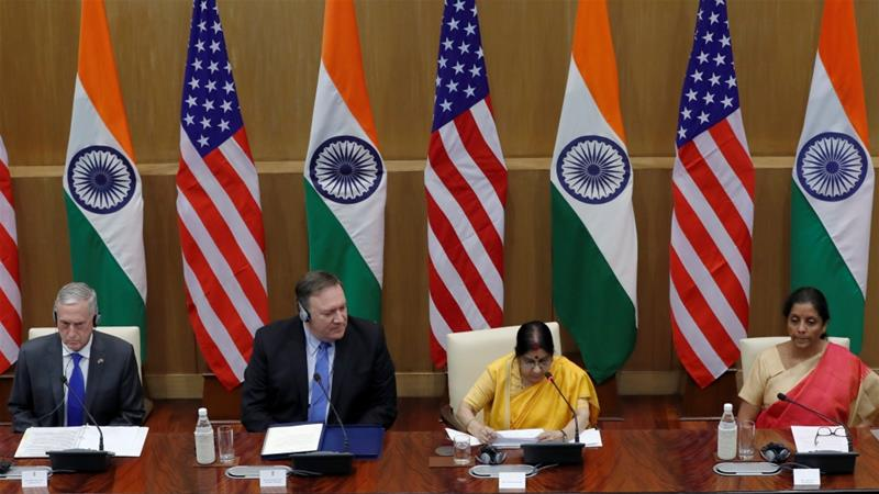 India, US to hold large military exercises in 2019