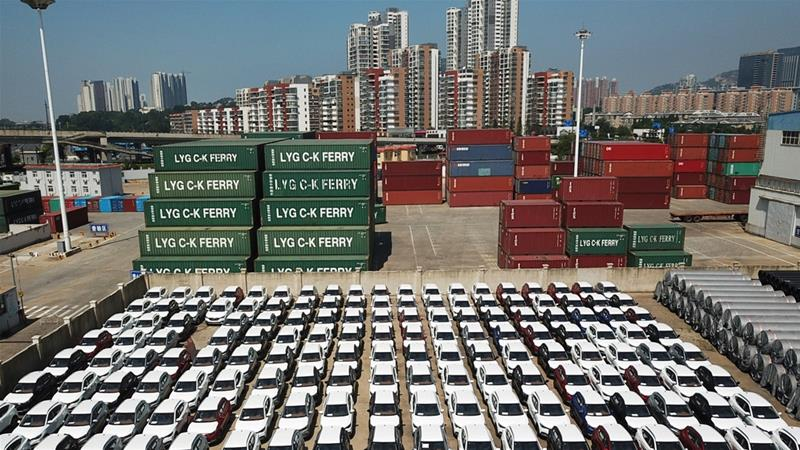 China's trade surplus with United States  hit new record in August