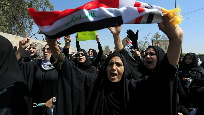 Basra has been rocked by violent protests against the Iraqi political establishment [Reuters]