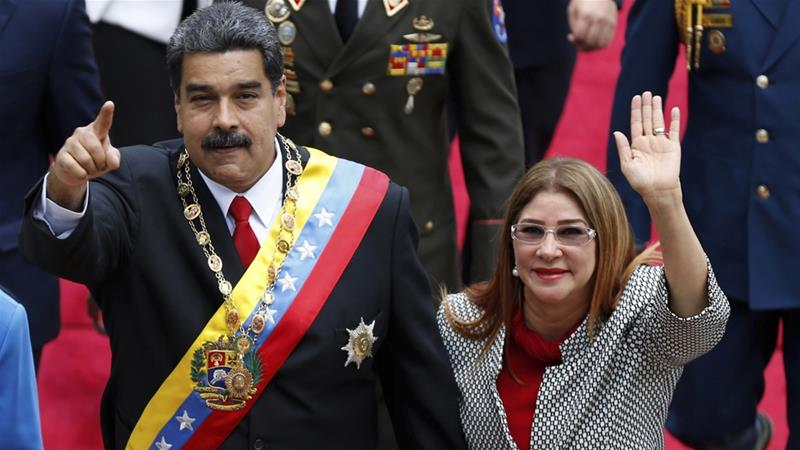 Trump officials met Venezuela military 'coup plotters'