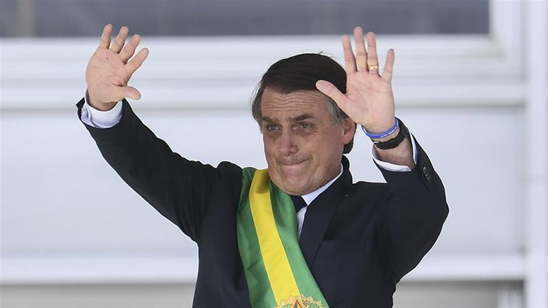 Anger after Bolsonaro calls for Brazil army to mark 1964 coup