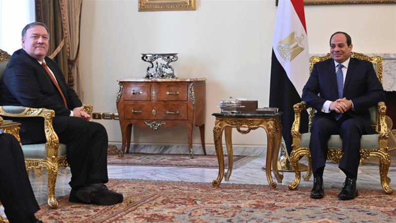 Pompeo repudiates Obama Mideast policy, takes aim at Iran