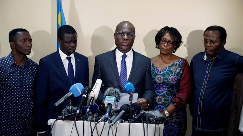 DRC's Fayulu to release church's vote results