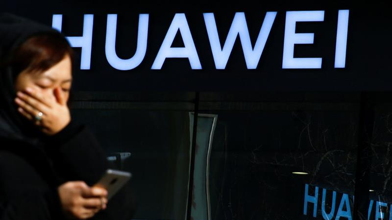 In a statement from its Chinese headquarters, Huawei said it was looking into the situation [Thomas Peter/File Photo]