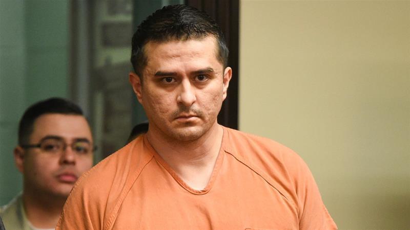 Juan David Ortiz pleaded not guilty to killing four sex workers in September [Associated Press]