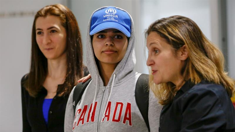 What does Rahaf's case say about social reform in Saudi Arabia?