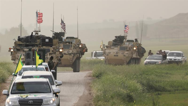 Cooperation between the US and the YPG is a source of tensions between Washington and Ankara [File: Rodi Said/Reuters]