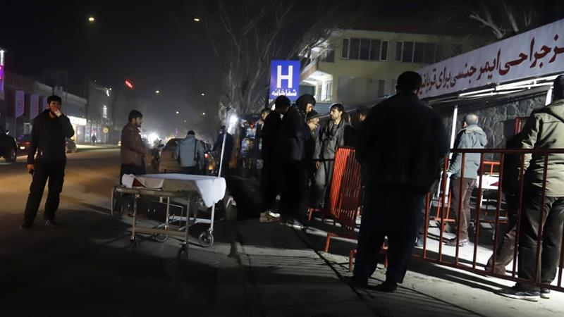 More than 40 wounded in Kabul vehicle bomb attack