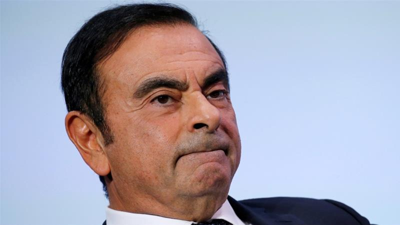 Ghosn is expected to stay in jail for several months after a second bail request was denied on Tuesday [File: Regis Duvignau/Reuters]