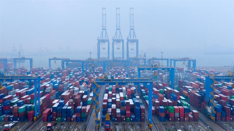 China's trade surplus with United States hits record high