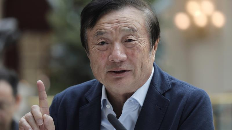 Ren Zhengfei  [Vincent Yu/AP Photo]