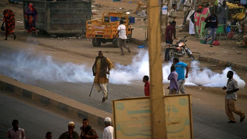 Sudan police fire tear gas at protesters in Kassala