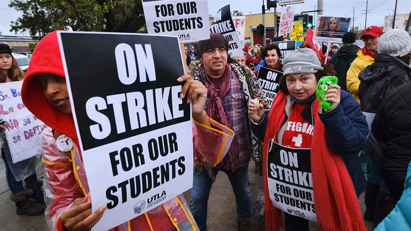 Los Angeles mayor offers to mediate talks to end teachers strike
