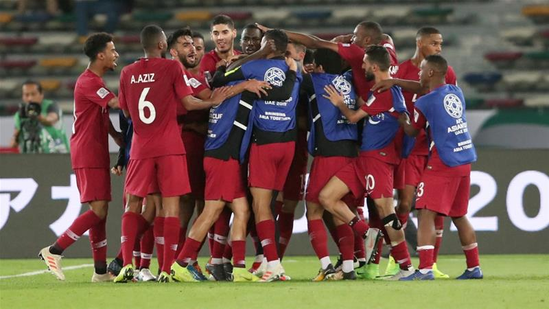 Qatar beat Saudi Arabia 2-0 to top Group E in Asian Cup