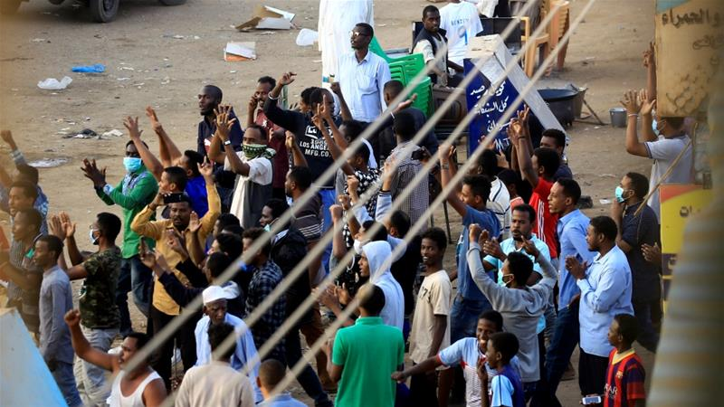 Sudan police fire live rounds outside home of slain protester